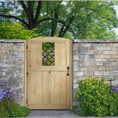 3.5 Ft. X 6 Ft. Cedar Fence Gate With Diamond Panel Insert