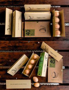 Eggscetra is an Concept Egg Packaging Design from Indian / World Brand & Packaging Design Society Egg Packaging, Brand Packaging, Egg Logo, Meat Packing, Egg Designs, Egg Holder, Cafe Food, Business Logo, Farm Business