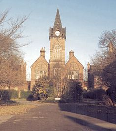 Middlesbrough workhouse main building from the south, 1980s