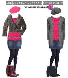 Ako vyzerať vyššie a štíhlejšie - Supervizáž Winter Jackets, Birds, Mini, Polyvore, Image, Fashion, Winter Coats, Moda, La Mode