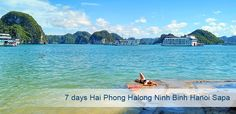 7days Hai Phong Halong Ninh Binh Hanoi Sapa tour is designed to explore main tourist attractions in Northen Vietnam. In this tour, travelers will have chance to explore World Heritage sites recognized by UNESCO, experience local minorities' life and Terraced rice field, historical attractions… HIGHLIGHTS PACKAGE PRICE: US $1200/person TOUR DETAILS Day 1: Hai Phong,Halong …