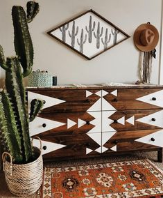 "5,175 Likes, 100 Comments - Kacy Brynn // Painted Signs (@northwoodsupply) on Instagram: ""every single time I make our giant cactus diamond, I fall in love all over again  • • • #bohemian…"""