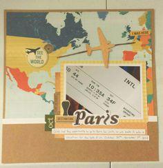 Paris Title Page - Scrapbook.com