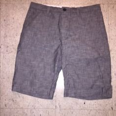 Men's Banana Republic Shorts! New New without tags! Boyfriend never wore these & he gained some weight so can not use them now! Size 32 Banana Republic Shorts