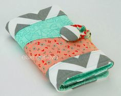 A personal favorite from my Etsy shop https://www.etsy.com/listing/162066752/grey-chevron-red-nectarine-pink-aqua