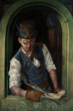 Steampunk Pirate by Lindsey Look