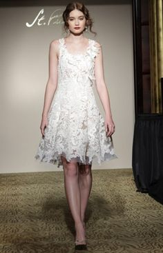 Bridal Gowns and Wedding Dresses by St. Pucchi. This dress is currently available at the West Hollywood salon. Style #Z350