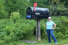 Giant Mail Box!  Prince Edward Island!