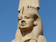 Colossal Meritamen statue (Ancient Egyptian: Beloved of Amun) was a daughter and later Great Royal Wife of Pharaoh Ramesses the Great. Ancient Egyptian Art, Ancient History, Egyptian Things, European History, Ancient Aliens, Ancient Greece, American History, Cleopatra, Famous Historical Figures