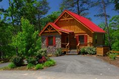 Don't let this quaint cabin fool you...Sundance features a game room, hot tub, and private movie theater!