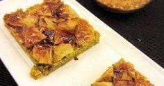Receta de Baklava, pastel árabe tradicional