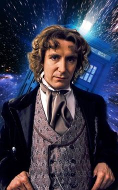 Doctor Who #8 Paul McGann (1996) Best known for his starring role in the British cult classic Withnail & I, Paul McGann played the Eighth Doctor in the 1996 TV movie. Whovians have very mixed feelings about the film, which was planned as the pilot for a full series before being crushed in the ratings by an episode of Roseanne. But McGann was by no means the worst thing about it.