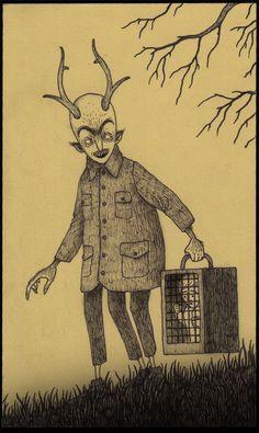 Les-dessins-monstrueux-sur-des-post-it-de-John-Kenn-Mortensen-13