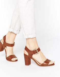 Carvela Sadie Tan Heeled Sandals