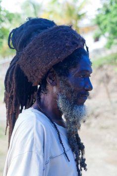 Photo by Elaine Dickson, My Hair is my Crown. Rastafarian in rural Jamaica. Dreadlocks Men, Dreadlock Rasta, Rastafarian Culture, Rasta Man, Jah Rastafari, Natural Dreads, Black People, My Hair, Hair Updo