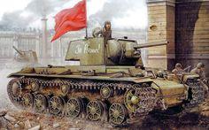 KV-1 at Leningrad 1941