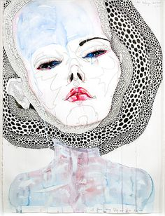 all these loving bits are from you, 2011 by Del Kathryn Barton