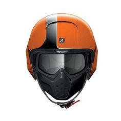 Shark Streetfighter Motorcycle Helmet Orange
