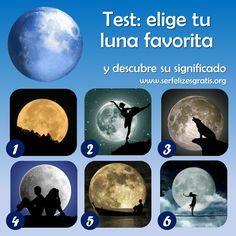 La luna, además de linda y misteriosa, también podría definir aspectos de tu vida y tu personalidad.     Mira las seis lunas, elige tu f...