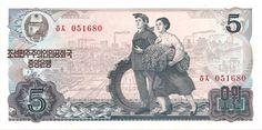 Motivseite: Geldschein-Asien-Nordkorea-원-5-1978