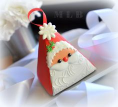 Santa treat box cookie .....My little bakery :): ...................Christmas cookie card project...............