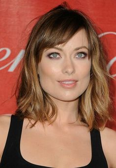 Olivia Wilde - want to do my hair like this!