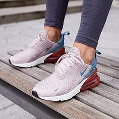 No time to wait on shipping? Pick up Nike Women's Air Max 270 Shoes today with DICK'S Free Contactless Curbside Pickup! Cute Nike Shoes, Cute Sneakers, Nike Air Shoes, Cute Nikes, Nike Air Max, Nike Workout Shoes, Nike Tennis Shoes, Girls Sneakers, Next Shoes