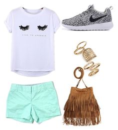 """""""Untitled #19"""" by molly-grace-lindsey ❤ liked on Polyvore featuring Chicnova Fashion, J.Crew and Topshop"""