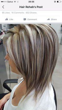 G S Old School Chunky Blonde Highlights My Work