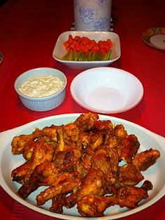 Buffalo Chicken Wings - Step by Step