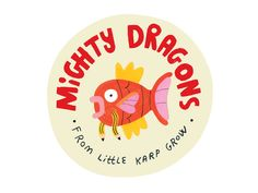 Unleash Your Inner Gyarados! gyarados magikarp lettering dragon art design illustration pokemon