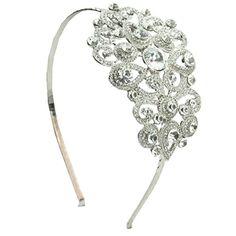 Alessa Swarovski Luxe Bridal Headband - Bridal Jewellery - Crystal Bridal Accessories