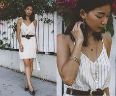 Get this look: http://lb.nu/look/7785006  More looks by Stephanie Liu: http://lb.nu/honeynsilk  Items in this look:  Alexis Bittar Necklace, Yaya Aflalo Dress   #chic #elegant #romantic