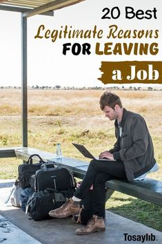 20 Best Legitimate Reasons for Leaving a Job Oftentimes, the interview committee or a new boss will ask you the reasons for leaving a job in your past. Telling the truth is recommended, but some reasons work much better than others. Reason For Leaving, Leaving A Job, Quit Job, Starting A Company, Professional Goals, Job Interview Tips, I Want To Work, Flexible Working, Good Excuses