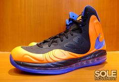 official photos 8442b 74565 Here's an Air Max Hyperposite PE done for Stoudemire in his Knicks colors  with his AS1 logo on the tongue. #basketball #Nike #sneakers #kicks