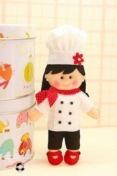 molde boneca de feltro - Pesquisa Google