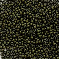 #seedbeads #japanesebeads #beading #craft  AU$0.45 - Dark Olive Metallic Matte Round Toho Seed Beads Size 8/0 - Large range of Toho seed beads. Japanese seed beads are world renowned and have a well-deserved reputation for achieving greater uniformity and consistency of size, shape and finish. FREE Domestic Shipping (Australia Wide) options available.