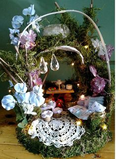 Fairy House Tea for Two a Bridal Cottage