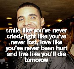 drake picture quotes tumblr | Drake Quotes Tumblr Cute Pic #21
