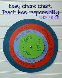 easy chore chart, teach kids responsibility. chore chart, summer chores, keep kids busy, teach kids, parenting ideas, responsibility, diy chore chart, thrifty chore chart