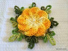 Flor crista de galo passo a passo