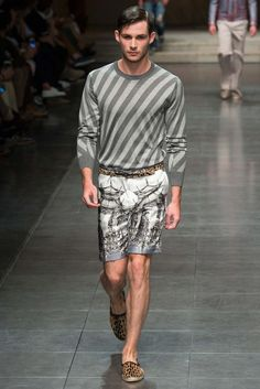 Dolce & Gabbana - Spring 2016 Menswear - Look 32 of 108