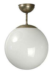 1920s Bauhaus Period Swiss Design Ceiling Lamp :: Quintessentia