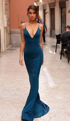 Elegant Dresses, Sexy Dresses, Nice Dresses, Fashion Dresses, Formal Dresses, Gala Dresses, Couture Dresses, Long Mermaid Dress, Look Formal