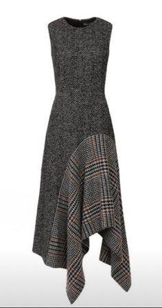Платье со вставкой Модная одежда и дизайн интерьера своими руками