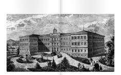 """«Nell'anno 1969 iniziarono le lezioni teoriche che si tenevano presso il teatro dell'Ospedale Psichiatrico San Niccolò. Il locale era situato al secondo piano dell'edificio centrale. I docenti, tutti primari dell'Ospedale, si presentavano in camice bianco, rivelando un'immagine paludata e autoritaria». Gino Civitelli e Flores Ticci, """"Noi c'eravamo. Storie e personaggi del manicomio di Siena""""."""