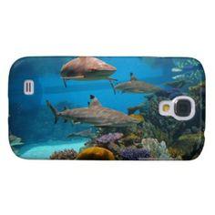 Aquatic Life. Coral Reefs Sharks National Aquarium Samsung Galaxy S4 Case