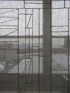 Korea: Detail of a Pojagi, traditional Korean wrapping cloth