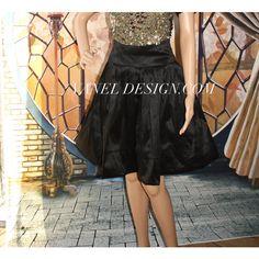 Bridesmaid Short Skirt Romantic Black Skirt Pockets Elegant skirt... ($75) ❤ liked on Polyvore featuring skirts, mini skirts, checked skirt, high waisted mini skirt, high-waist skirt, pleated mini skirt and short pleated skirt