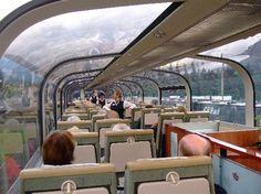 The Rocky Mountaineer train 2